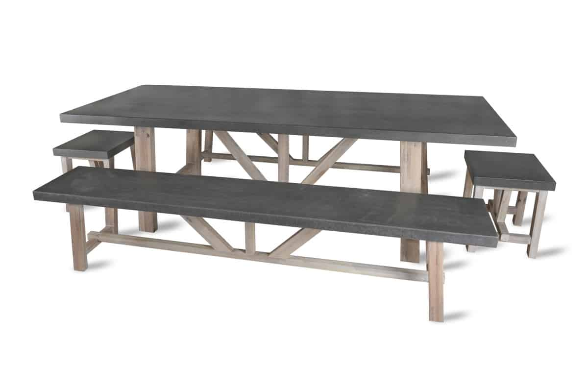 Chilson Concrete Table And Bench Set Ctct01 510x318