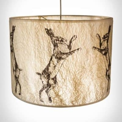 Boxing-Hare-Lampshade-2-400x400 Lighting