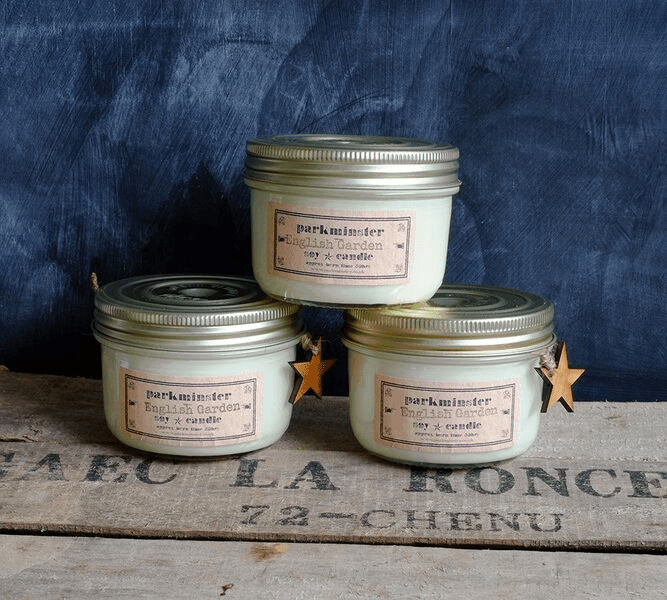 Vintage-Star-Jar-Candle Candles & Home Fragrances