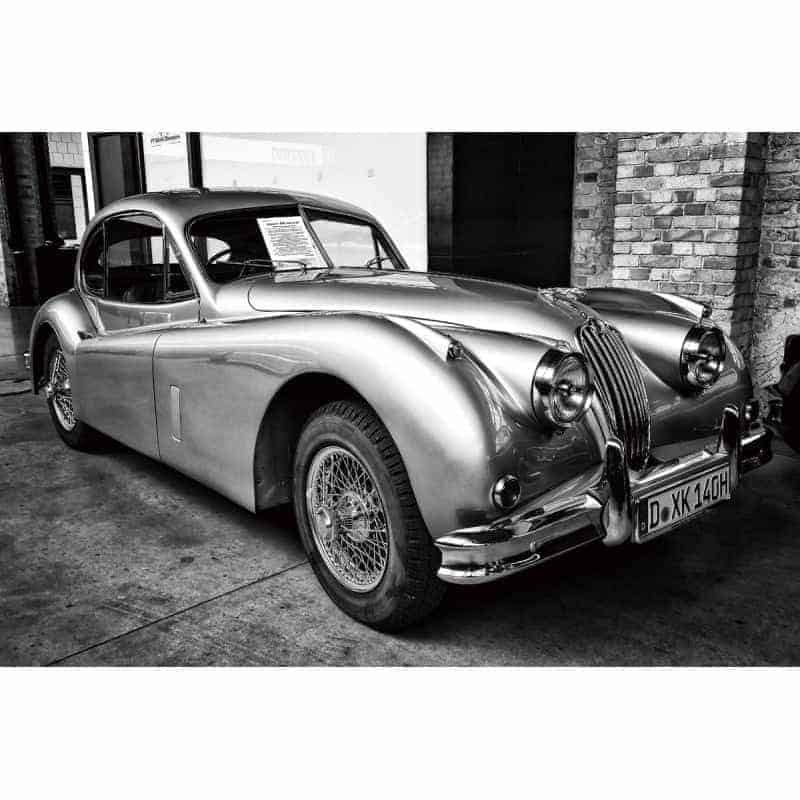 classic-1950s-jaguar-xk120-car-tempered-glass-wall-art-picture-80cm-x-120cm Glass Art