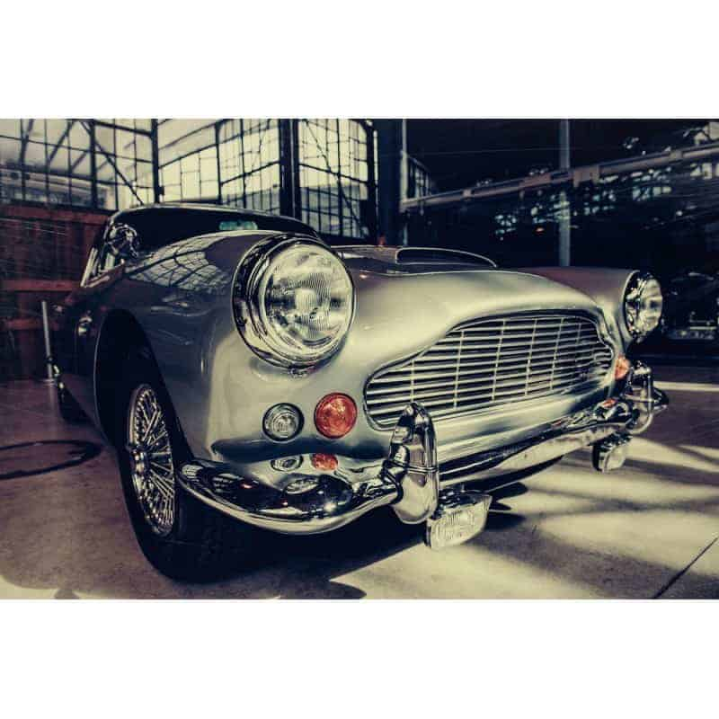 classic-1960s-aston-martin-car-tempered-glass-wall-art-80cm-x-120cm Glass Art