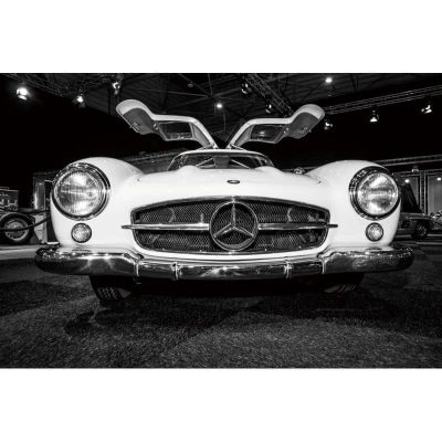 mercedes-gullwing-restoration-project-car-tempered-glass-wall-art-picture-400x400 Art