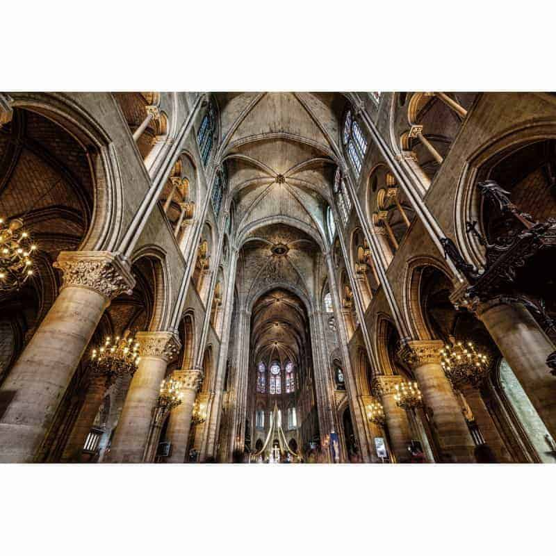 notre-dame-cathedral-tempered-glass-wall-art-80cm-x-120cm Glass Art