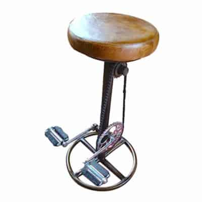 retro-recycled-bicycle-pedals-bar-stool-400x400 Seating