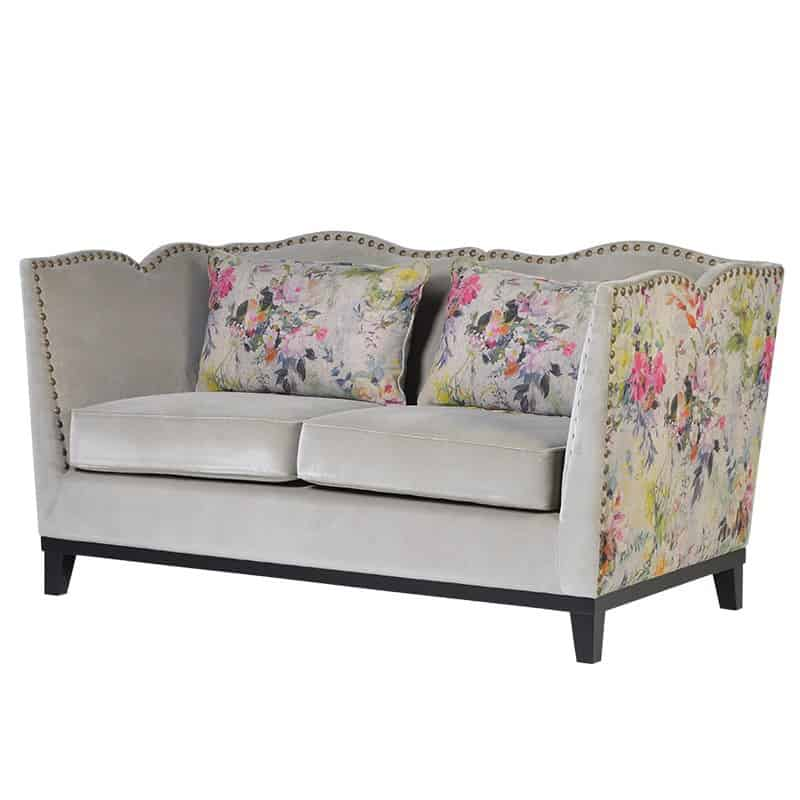 The Meadow Two Seater Sofa In Zinc